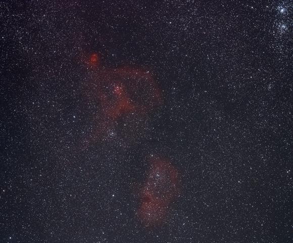 IC 1805 160 images de 60s à 1600ISO